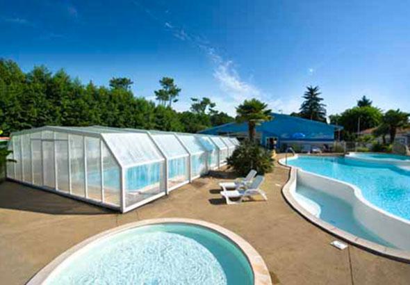 camping biscarrosse avec piscine