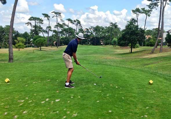terrain golf landes